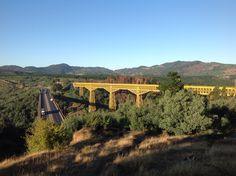 Viaducto del Malleco. 26/10/1890, Presidente Juan Manuel Balmaceda inauguró el Viaducto del Malleco. Araucanía.