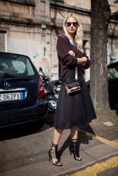 They Are Wearing  Milan Fashion Week Fall 2015 4fe4d991437