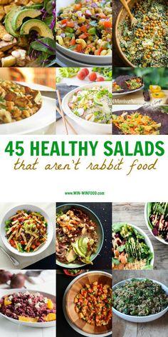 45 Salate, die nicht langweilig sind!