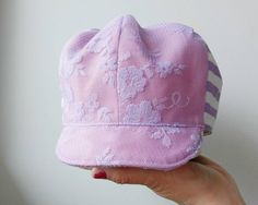 Check out this item in my Etsy shop https://www.etsy.com/listing/276726382/baby-girl-toddler-trucker-hat-pink-white