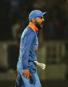 "India vs Windies Watch – Virat Kohli Reacts as Mumbai Crowd Chants ""Anushka"" Rainy Good Morning, Virat Kohli Quotes, Steve Waugh, Virat Kohli Instagram, Shivaji Maharaj Wallpapers, Virat Kohli And Anushka, Virat Kohli Wallpapers, One Day International, India Cricket Team"