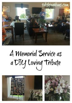 15 ideas for a beautiful memorial service on a budget diy reception instead of a typical funeral service one family opted for a memorial service which solutioingenieria Gallery