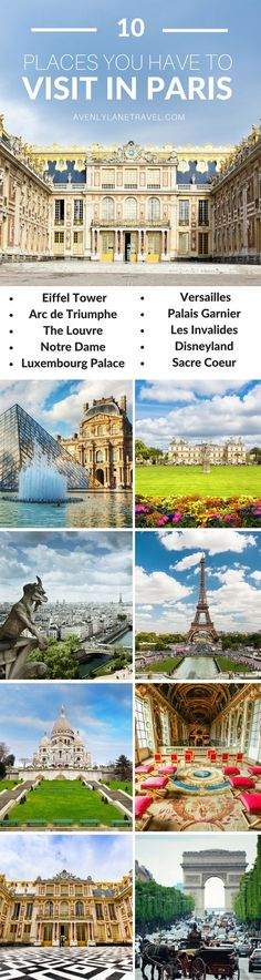 10 Things you have to see your first time in Paris   Things to see in Paris, France   Avenly Lane Travel