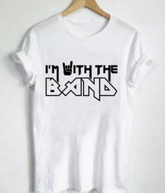 Unisex Premium Tshirt I Am With The Band //Price: $13.50 //     #supply