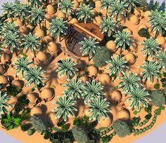 Earthbag Village Overview - Click to Enlarge