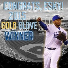 Congrats to @alcidesescobar2 on winning his first Rawlings Gold Glove Award! | royals.com