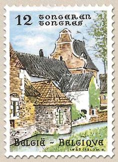 Belgian Stamps Tourisme.Tongeren