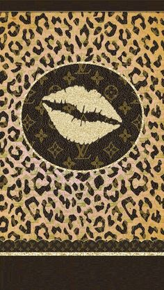 Pink And Brown Leopard Print Lace Wallpaper Girly