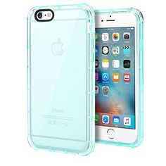 """iPhone 6s Case, ENGIVE Ultra Transparent Air Cushion Bumper Case with Scratch Resistant Clear Back Panel for 4.7"""" Apple iPhone 6s 2015 (Green) ENGIVE http://www.amazon.com/dp/B015E73V5Y/ref=cm_sw_r_pi_dp_l4Zewb0KEPK23"""