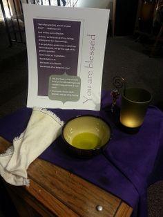 2014 Ash Wednesday | Flickr - Photo Sharing; prayer station