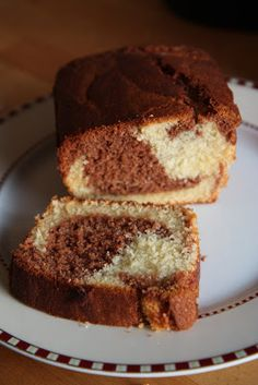 This evening, I decided to make a simple but nice and soft marble cake. Yogurt is used instead of buttermilk,to give it extra moist and to m. Marble Cake Recipes, Pound Cake Recipes, Cake Receipe, Chestnut Cake Recipe, Marbel Cake, Johnny Cakes Recipe, Mango Mousse Cake, Classic Cake, Sweet Pastries