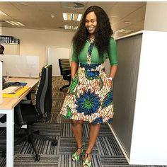 African Print Office Wear Styles to Rock 2018