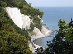 Chalk Cliffs at Isle Rügen, Germany