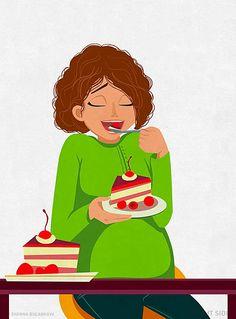 Δείτε τις πιο χαρακτηριστικές στιγμές της εγκυμοσύνης, που όλες οι μανούλες έχουν περάσει, μέσα από δώδεκα αστεία σκίτσα. Maybe Tomorrow, Decir No, Disney Characters, Fictional Characters, Snow White, Disney Princess, Amelia, Pregnancy, Future Mom
