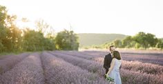 A Provence Engagement Session in Fields Lavender