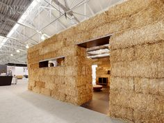 Hedge Gallery's stand at San Francisco Art and Design Show by Rael San Fratello Architects.