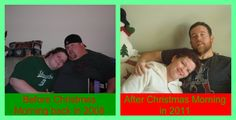Blown away by this man/couple's weight loss over 2 years.