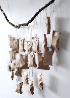 DIY: Cute advent calendars that you can do yourself