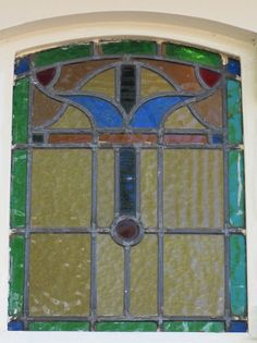 stained glass window, Amsterdam
