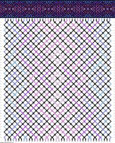 40 strings, 44 rows, 7 colors