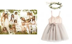 The Most Adorable Looks for Flower Girls and Page Boys Inspired by Royal and Fashionable Weddings – Vogue - Kate Moss and her bridal party