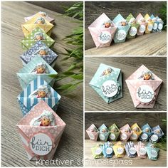 I made these Easter 2017 Stampin Up, Creative Box, Envelope Punch Board, Treat Holder, Diy Cards, Craft Fairs, Little Gifts, Homemade Gifts, Easter Crafts