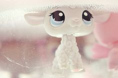 littlest pet shop i have a pink lamb here is a real lps