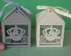 50 wedding favour boxes wedding sweet boxes by Daft4kraft on Etsy