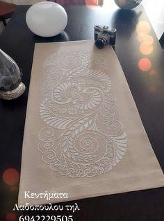 Cross Stitch Designs, Cross Stitch Patterns, Greek Traditional Dress, Cross Stitch Magazines, Burlap Table Runners, Mini Cross Stitch, Crochet Cross, Bargello, Runes