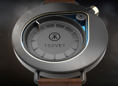 Titled 'Time', these watches by designer Colby Higgins carry an element of dreaminess. The first one, targeted at the male demographic, has an appealingly asymmetric design.