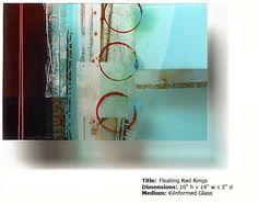 Kiln formed art glass, Kari Minnick