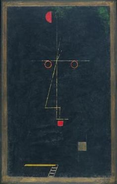Paul Klee  Portrait of an Equilibrist (artist)  c. 1927