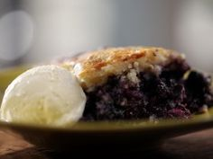 Cast-Iron Blueberry Cobbler from CookingChannelTV.com