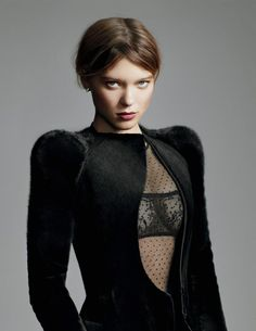 "seydouxdaily: "" Léa Seydoux photographed by Paul Maffi for Madame Figaro, 2009 "" Female Actresses, Actors & Actresses, Lea Seydoux, Bond Girls, French Beauty, French Actress, French Girls, Portraits, Famous Women"