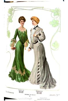 Gowns of 1903. The Delineator, January 1903.