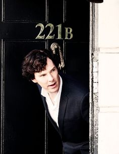 221B Baker Street. I really want to put 221B on my bedroom door, and then put a knocker underneath.