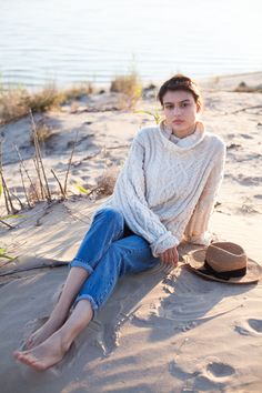 Chunky knit sweater from @atelierbachot