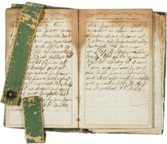 Civil War Diary of Franklin Yike, 87th Indiana, - Cowan's Auctions