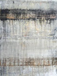 """For Sale on - abstract beige/silver wall"""", Painting, Acrylic on Canvas, Acrylic Paint by Roger König. Offered by Zatista. Contemporary Abstract Art, Modern Art, Black Abstract, Contemporary Artists, American Indian Art, Hanging Art, Magazine Art, Abstract Expressionism, Vintage Posters"""