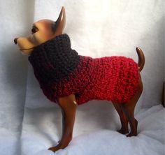 Ébano a arándano, suéter de lana de perro, perro hacemos punto el suéter, suéter de perro pequeño, suéter de perro, suéteres del perro, suéteres de perro rojo, negro suéteres de perro