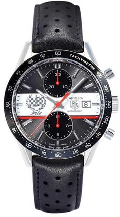 """TIME-KEEPERS -         TAG Heuer Carrera Goodwood FOS Limited Edition #watch #design""""."""