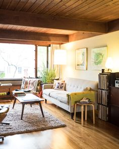 House Tour: A Natural, Modern Massachusetts Multi-Level | Apartment Therapy