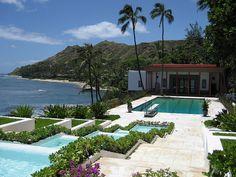 Doris Duke Pool House in Honolulu