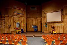 kids church stage - Google Search