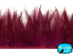 1 Yard Lavender Rooster Neck Hackle Saddle Feather Wholesale Trim Craft Supply