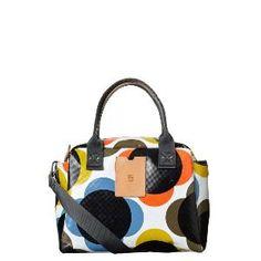 #OrlaKiely Etc Giant Flower Printed #Tarpaulin Zip Secure #Handbag