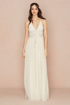 Sasina Cotton Crochet Dress