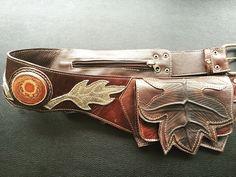 Third Eye Pinecone leather leaf utility belt/ pocket belt / beltbag by NayturesEmpire on Etsy https://www.etsy.com/listing/254065700/third-eye-pinecone-leather-leaf-utility
