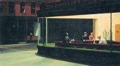 Nighthawks Edward Hopper Date: 1942