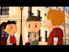 Le Petit Nicolas - Le porte monnaie  (46) French Class, Teaching French, Video Clip, Films, Language, Youtube, The Pacific, Cartoons, Coin Purses